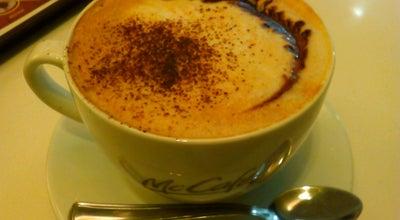 Photo of Coffee Shop McCafé at Baross Gábor U. 23., Győr, Hungary