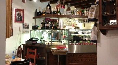 Photo of Pizza Place Lo Zozzone at Via Del Teatro Pace 32, Roma, Italy