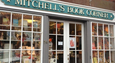Photo of Bookstore Mitchell's Book Corner at 54 Main St, Nantucket, MA 02554, United States