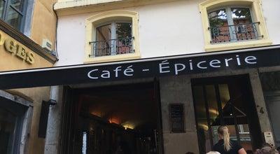 Photo of Gourmet Shop Cafe-Épicerie Cour des Loges at 1-3 Place Du Petit Collège, Lyon 69005, France