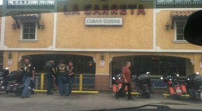 Photo of Cuban Restaurant La Carreta at 11740 Sw 88th St, Miami, FL 33186, United States