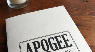 Photo of Wine Bar Apogee at 151 Park Ave, Rochester, NY 14607, United States