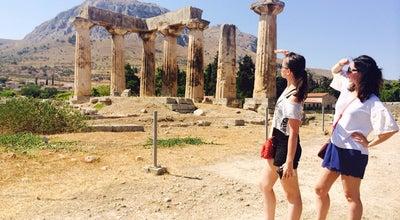 Photo of Historic Site Ναός Απόλλωνα at Αρχαιολογικός Χώρος Αρχαίας Κορίνθου, Arkhaía Kórinthos 200 07, Greece