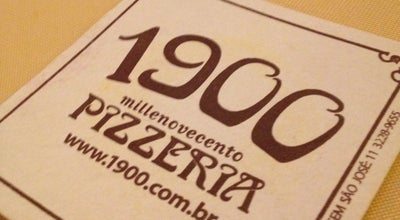 Photo of Pizza Place 1900 Pizzeria at R. Socrates, 598, São Paulo, Brazil