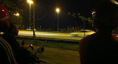 Photo of Racetrack Flyover Muar at Malaysia