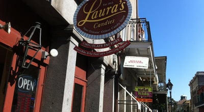 Photo of Candy Store Laura's Candies at 331 Chartres St, New Orleans, LA 70130, United States