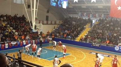 Photo of Basketball Court Mersin Edip Buran Spor Salonu at Pirireis Mah. Gmk Bulvarı Gençlik Hizmetleri Ve Spor İl Müdürlüğü Binası Yanı, Mersin 33110, Turkey