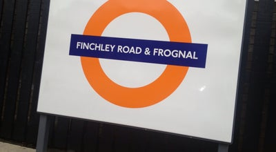 Photo of Train Station Finchley Road & Frognal London Overground Station at Finchley Rd., London NW3 6EP, United Kingdom
