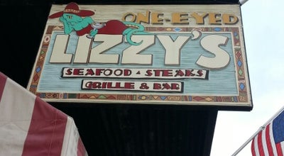 Photo of Seafood Restaurant One-Eyed Lizzy's at 417 E River St, Savannah, GA 31401, United States