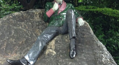 Photo of Monument / Landmark Oscar Wilde Statue at Merrion Sq., Dublin 2, Ireland