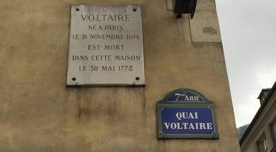 Photo of French Restaurant Voltaire (Le) at 27 Quai Voltaire, Paris 75007, France