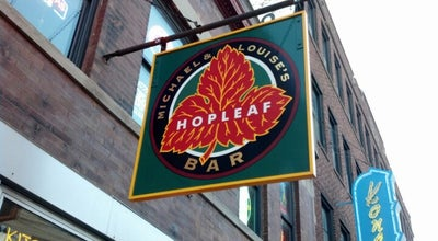 Photo of Nightlife Spot Hopleaf Bar at 5148 N Clark St, Chicago, IL 60640, United States