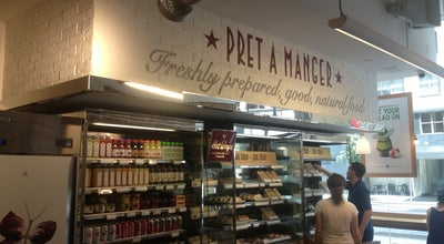 Photo of Fast Food Restaurant Pret A Manger at 1350 6th Avenue, New York, NY 10019, United States