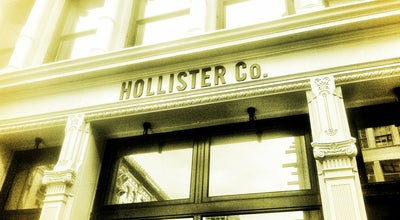 Photo of Clothing Store Hollister at 600 Broadway, New York, NY 10012, United States