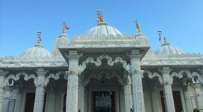 Photo of Hindu Temple BAPS Shri Swaminarayan Mandir at 135 Gipsy Lane, Leicester LE4 6RH, United Kingdom