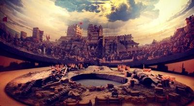 Photo of History Museum Panorama 1453 Fetih Müzesi at Merkez Efendi Mh Topkapı Kültür Parkı Topkapı, Zeytinburnu, İstanbul 34015, Turkey