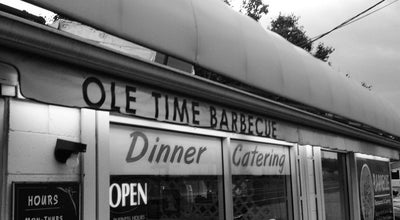 Photo of BBQ Joint Ole Time Barbecue at 6309 Hillsborough St, Raleigh, NC 27606, United States