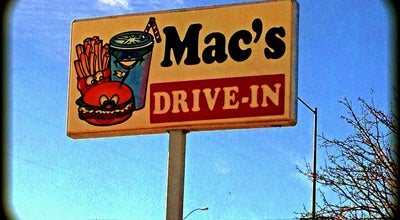 Photo of Diner Mac's Drive In at 809 W B St, McCook, NE 69001, United States