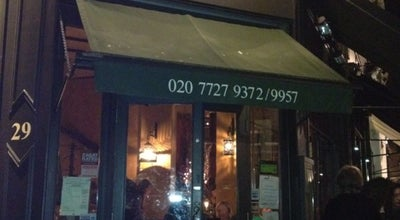 Photo of Italian Restaurant Osteria Basilico at 29 Kensington Park Rd, London W11 2EU, United Kingdom