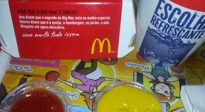 Photo of Burger Joint Mac Donalds at Av Francisco Glicerio, Campinas, Brazil