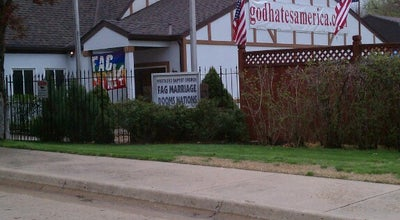 Photo of Church Westboro Baptist Church at 3701 Sw 12th St, Topeka, KS 66604, United States