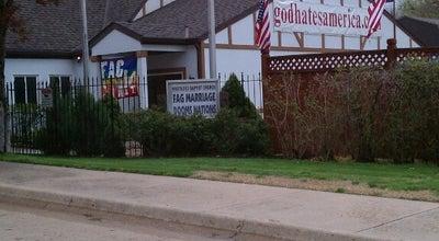 Photo of Church Westboro Baptist Church at 3701 Sw 12th St, Topeka, KS 66604, United States