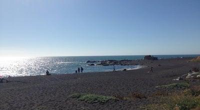 Photo of Beach Playa Maule at Coronel, Chile