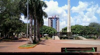 Photo of Park Plaza de Armas at Mcal. Estigarribia, Encarnación, Paraguay