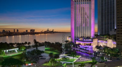 Photo of Resort InterContinental Miami at 100 Chopin Plaza, Miami, FL 33131, United States