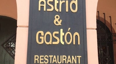 Photo of Peruvian Restaurant Astrid & Gastón at Antonio Bellet 201, Providencia, Chile