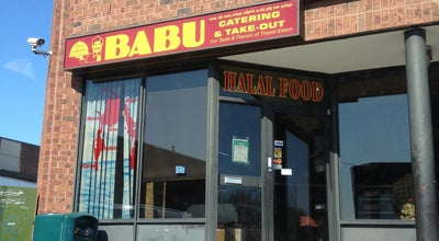 Photo of Indian Restaurant Babu Catering & Take Out at 4800 Sheppard Ave. E - 201, Toronto, Canada