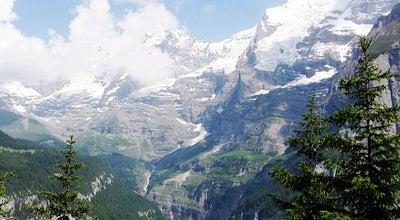 Photo of Village Mürren at Lauterbrunnen 3825, Switzerland