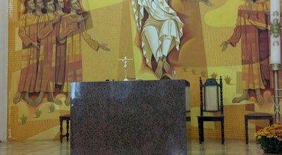 Photo of Church Paróquia Santa Mônica at Praça Américo Ferreira De Abreu, 380, Uberlândia 38408-226, Brazil