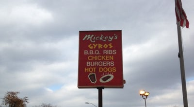 Photo of Fast Food Restaurant Mickey's Gyros & Ribs at 525 N Harlem Ave, Oak Park, IL 60302, United States