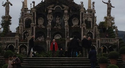 Photo of Sculpture Garden Giardini Borromeo | Palace Gardens at Isola Bella, Italy