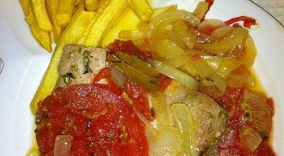 Photo of Seafood Restaurant Restaurante Noélia & Jerónimo at Rua Da Fortaleza, Cabanas 8800-595, Portugal