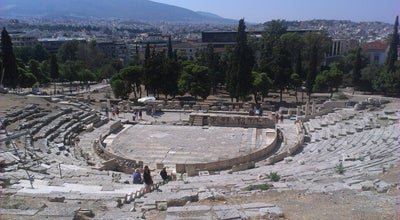 Photo of Historic Site Θέατρο Διονύσου Ελευθερέως (Theatre of Dionysus Eleuthereus) at Νότια Κλιτύς Ακροπόλεως, Αθήνα 105 58, Greece