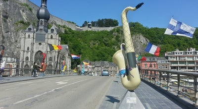 Photo of Town Dinant at Dinant 5500, Belgium