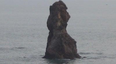Photo of Sculpture Garden Old Stone Man 石老人 at 466 Hong Kong E Rd, Qingdao, Sh 266100, China