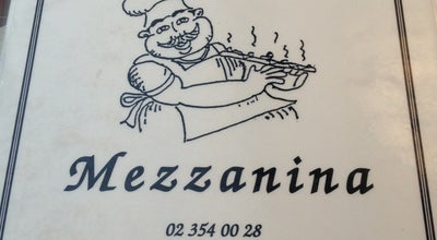 Photo of Italian Restaurant Mezzanina at Rue Du Couvent, Waterloo 1410, Belgium