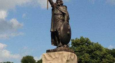 Photo of Monument / Landmark King Alfred's Statue at The Broadway, Winchester S O23, United Kingdom