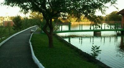 Photo of Lake Sociedade de Medicina clube Quiosque do Lago at Br 287, Santa Maria, Brazil