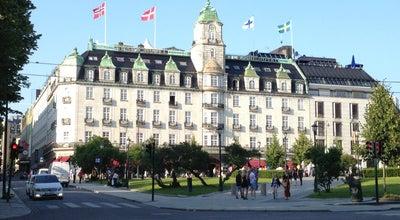 Photo of Hotel Grand Hotel Oslo at Karl Johans Gate 31, Oslo 0159, Norway