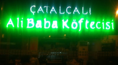 Photo of Diner Çatalcalı Ali Baba Koftecisi at Ataturk Caddesı No: 45/2 Buyukcekmece, Turkey