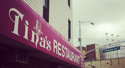 Photo of Diner Tina's Place Restaurant at 1002 Flushing Avenue, Brooklyn, NY 11206, United States