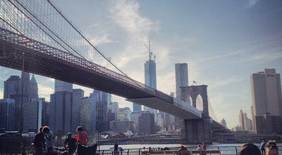 Photo of Scenic Lookout Under The Brooklyn Bridge at Brooklyn Bridge, Brooklyn, NY 11201, United States