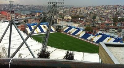 Photo of Soccer Stadium Recep Tayyip Erdoğan Stadyumu at Tepebaşı Caddesi No:11 Kasımpaşa, Beyoğlu 34192, Turkey