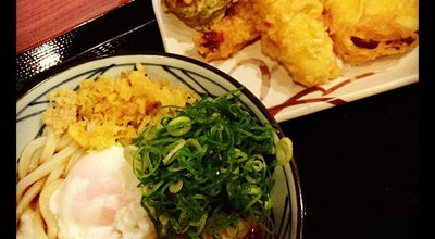 Photo of Food 丸亀製麺  青森店 at 第二問屋町2-3-25, 青森市 030-0113, Japan