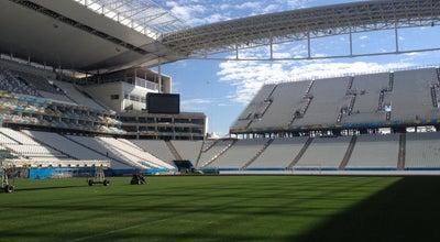 Photo of Soccer Stadium Arena Corinthians at Av. Miguel Inácio Curi, 111, São Paulo 08295-005, Brazil