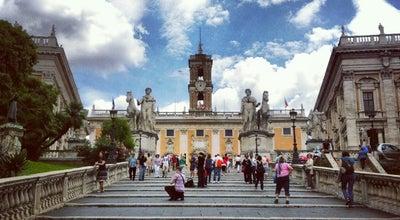Photo of Plaza Piazza del Campidoglio at Piazza Del Campidoglio, Roma 00186, Italy